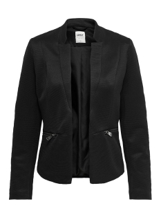 Only Blazer ONLMADDY-ICON L/S SHORT BLAZER CC T 15191458 Black/W. BLACK