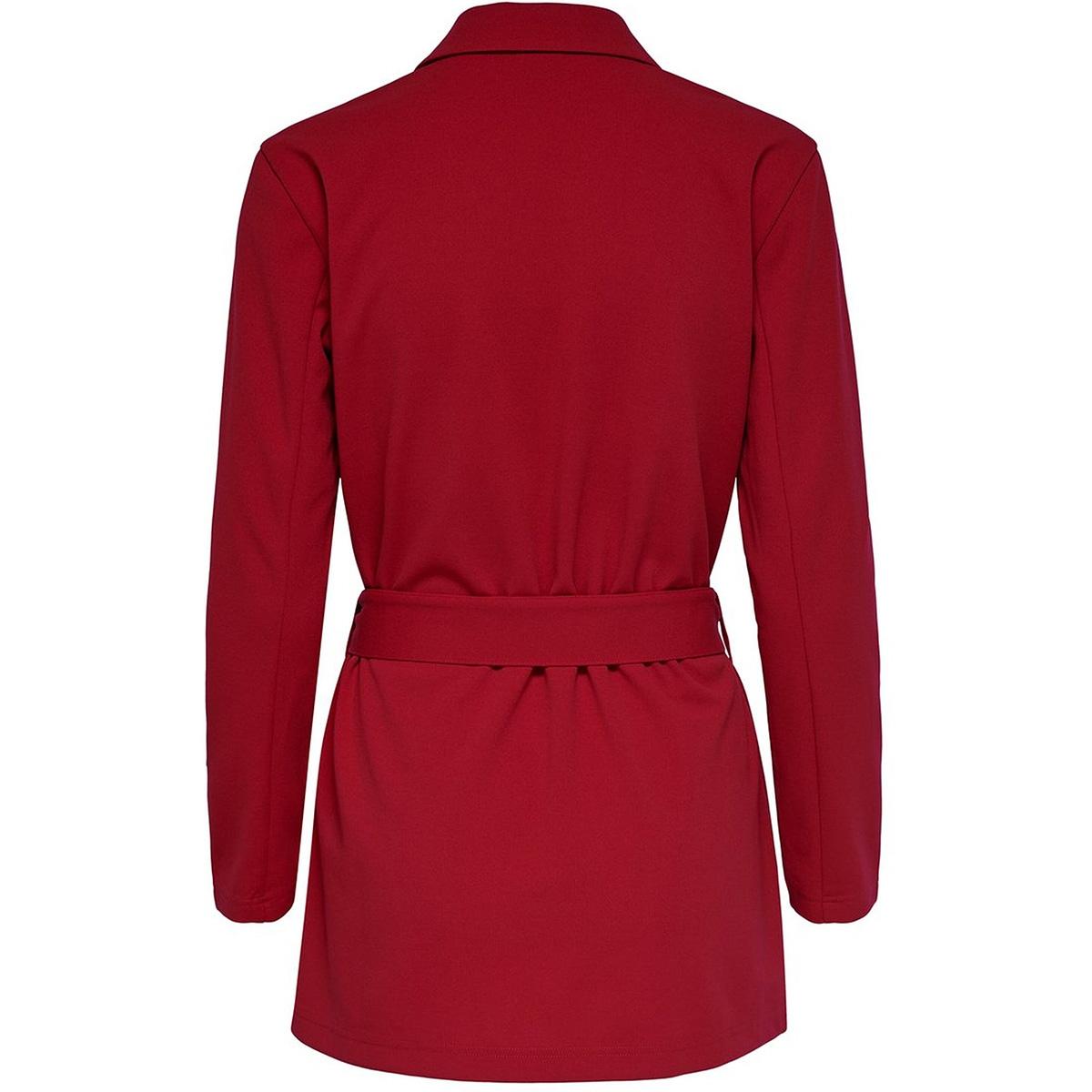 jdyone catia treats l/s blazer jrs 15196959 jacqueline de yong blazer scarlet sage