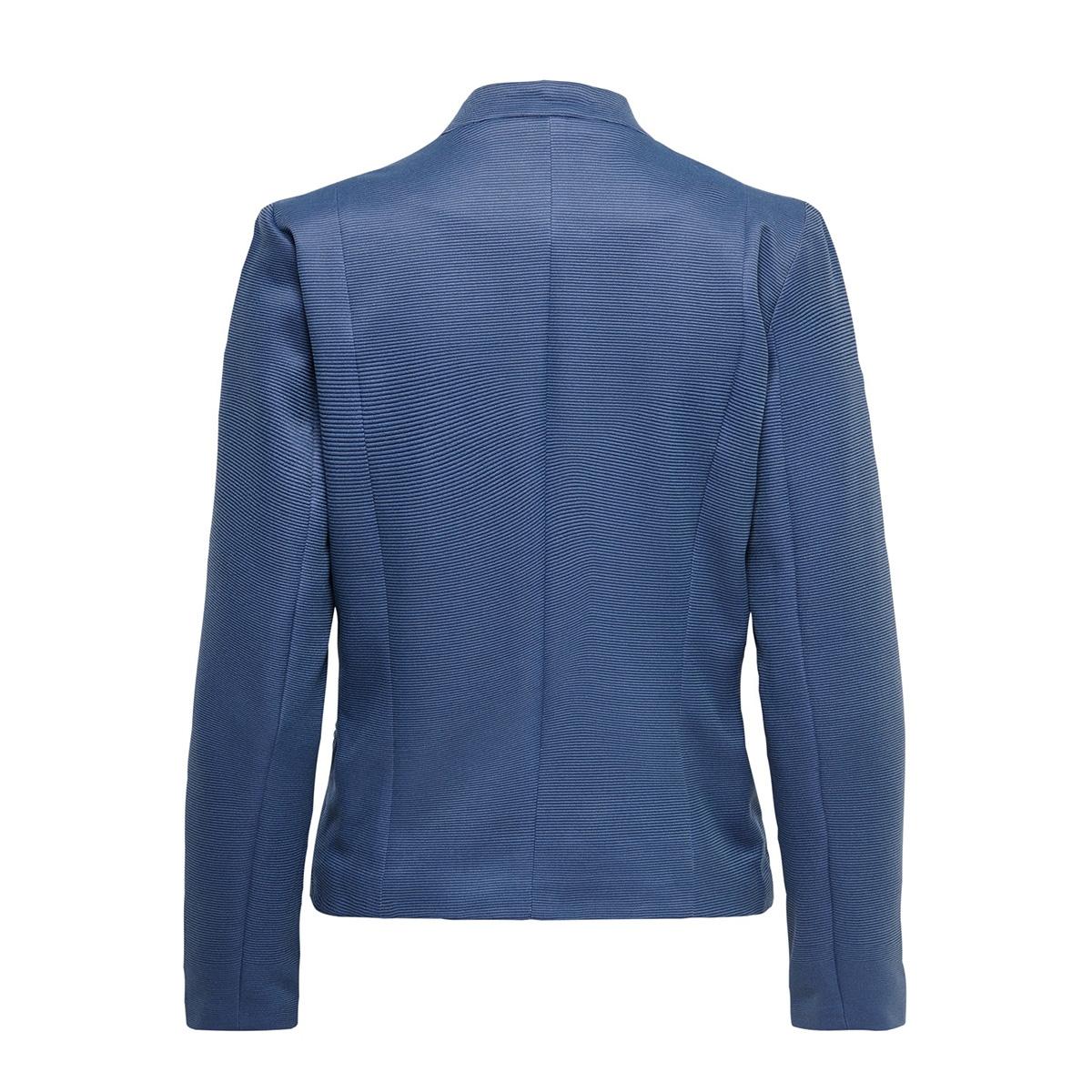 onlmaddy-icon l/s short blazer cc t 15191458 only blazer faded denim/w. night sky