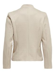onlmaddy-icon l/s short blazer cc t 15191458 only blazer pumice stone/w. cloud dancer