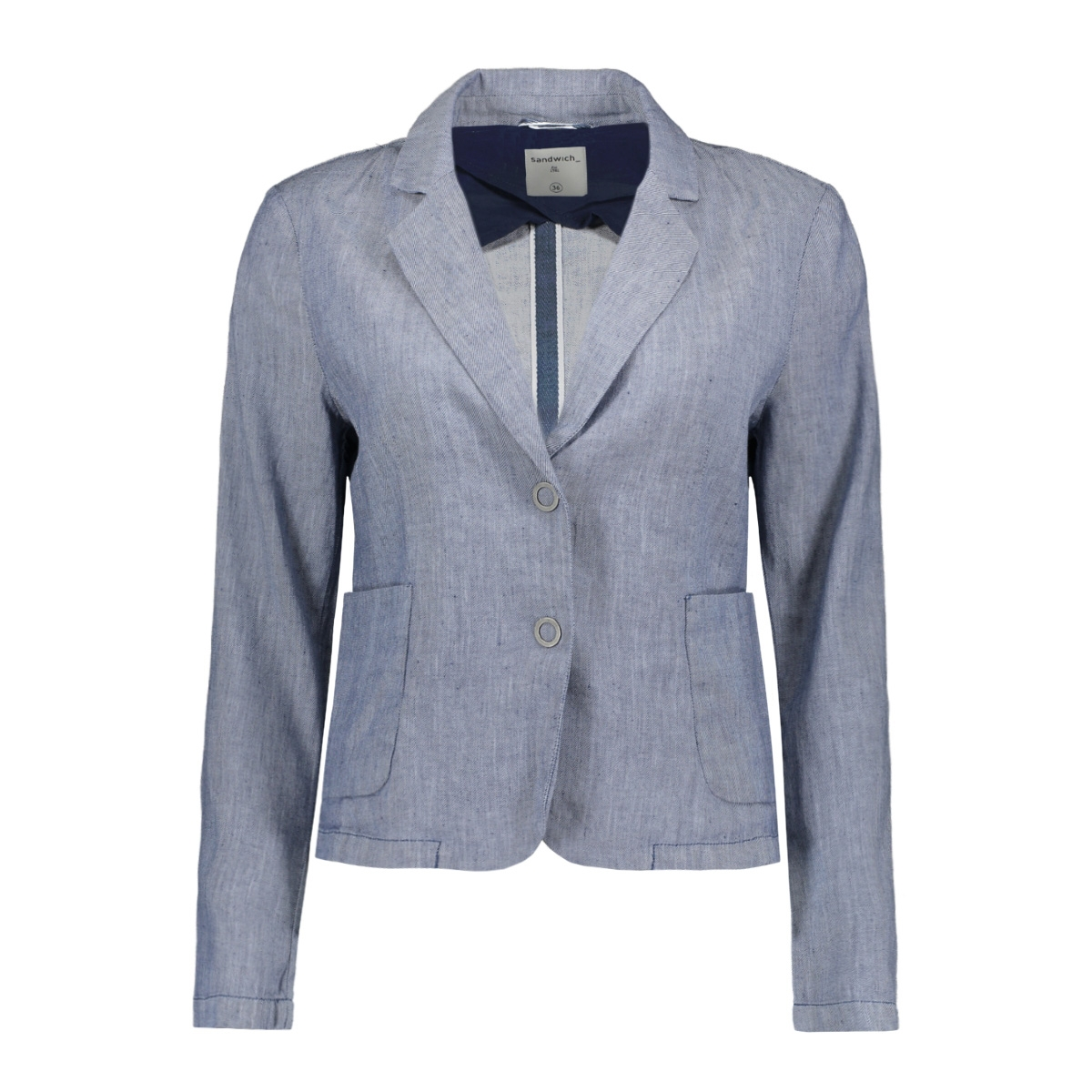 denim look blazer 25001564 sandwich blazer 40094