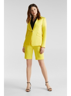 blazer met stretch en fijne glans 040eo1g305 esprit collection blazer e750