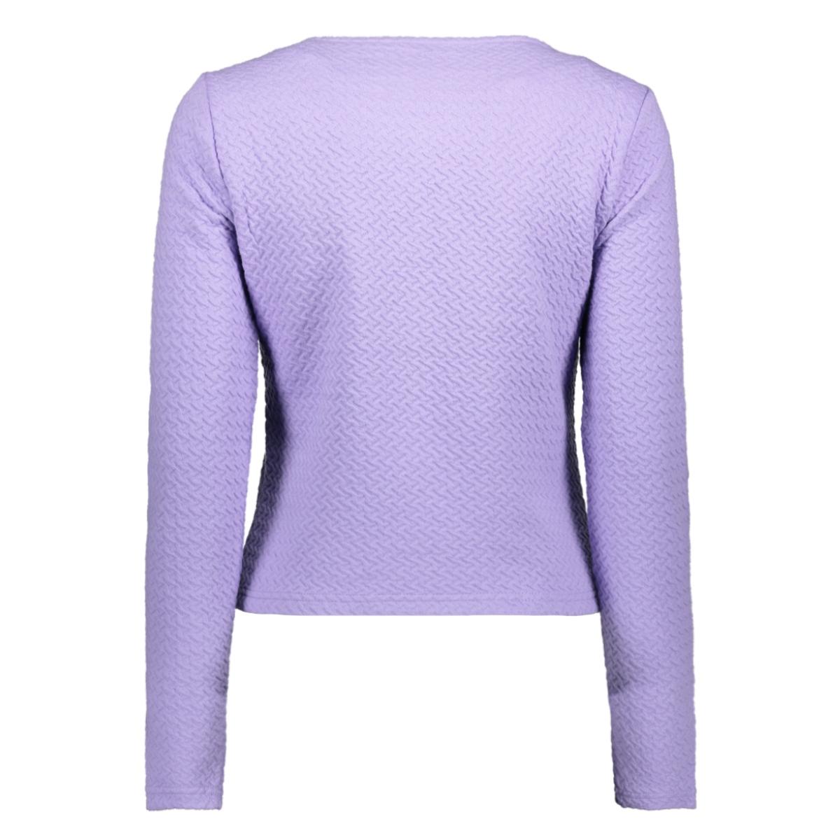 vinaja new short jacket-fav 14043895 vila vest violet tulip