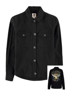 denim jas t00291 garcia jas 60 black