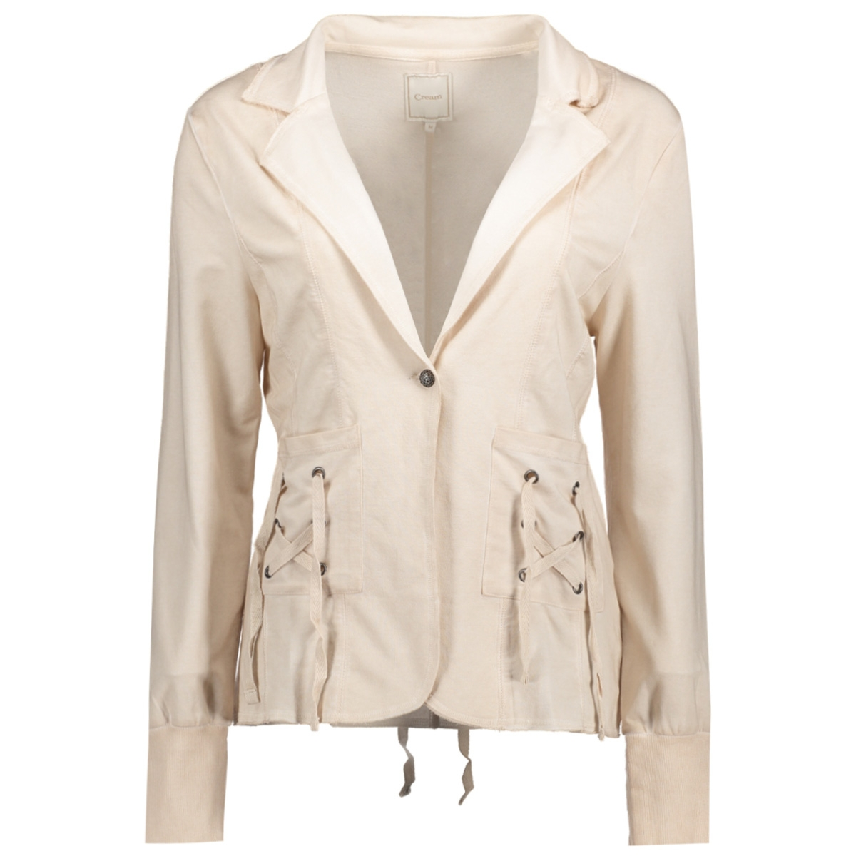 10601757 cream blazer pink tint