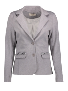 Cream Blazer 10603571 ANETT BLAZER LIGHT GREY MELANGE