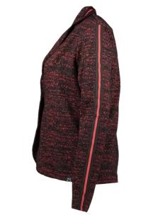 kim blazer zoso blazer black/red