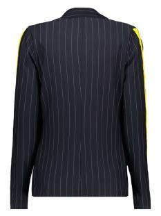 pinstripe blazer hr1933 zoso blazer navy/yellow
