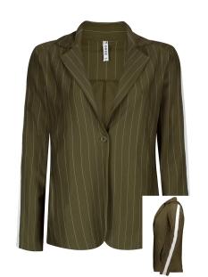 pinstripe blazer hr1933 zoso blazer army/offwhite