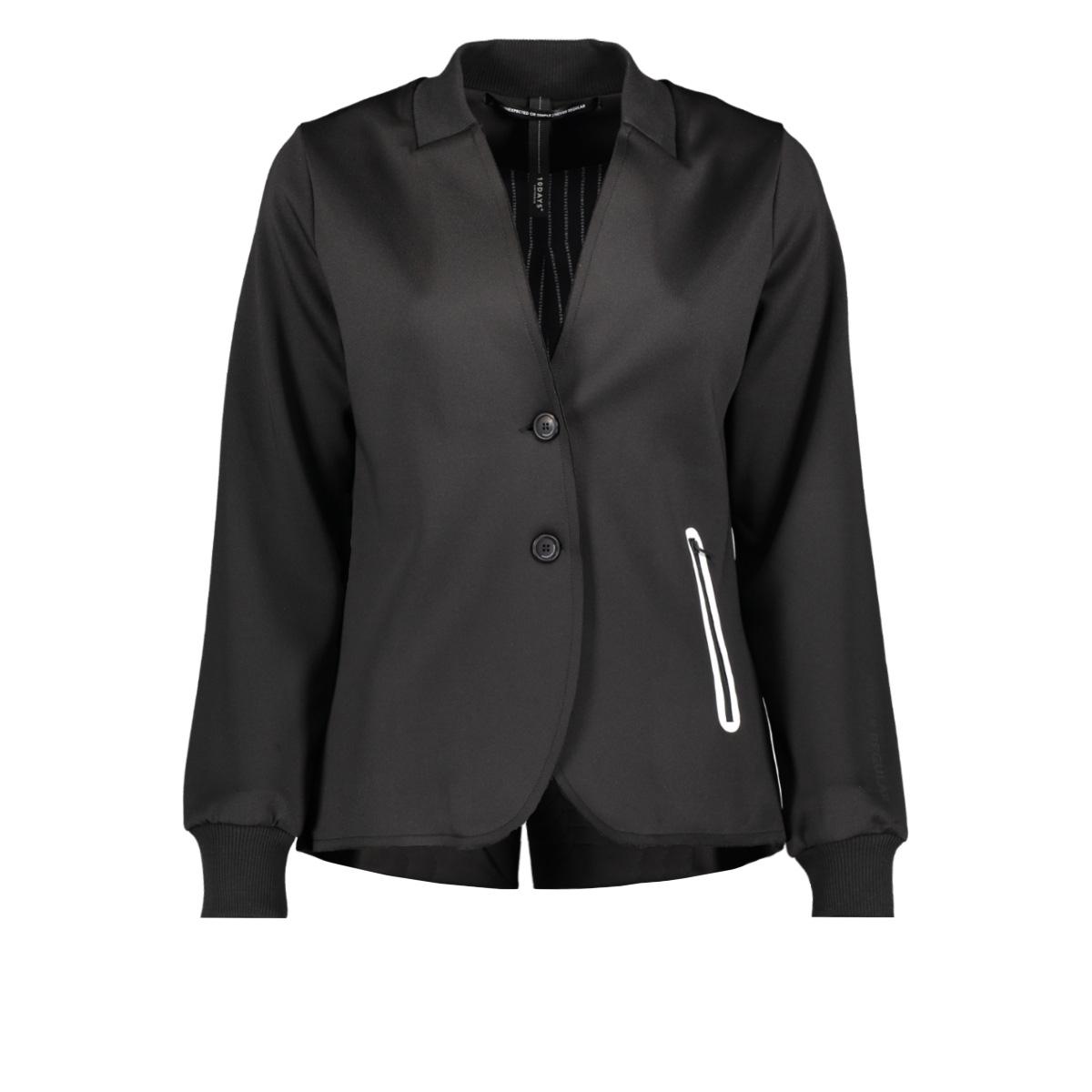 smoking blazer 20 505 9103 10 days blazer black