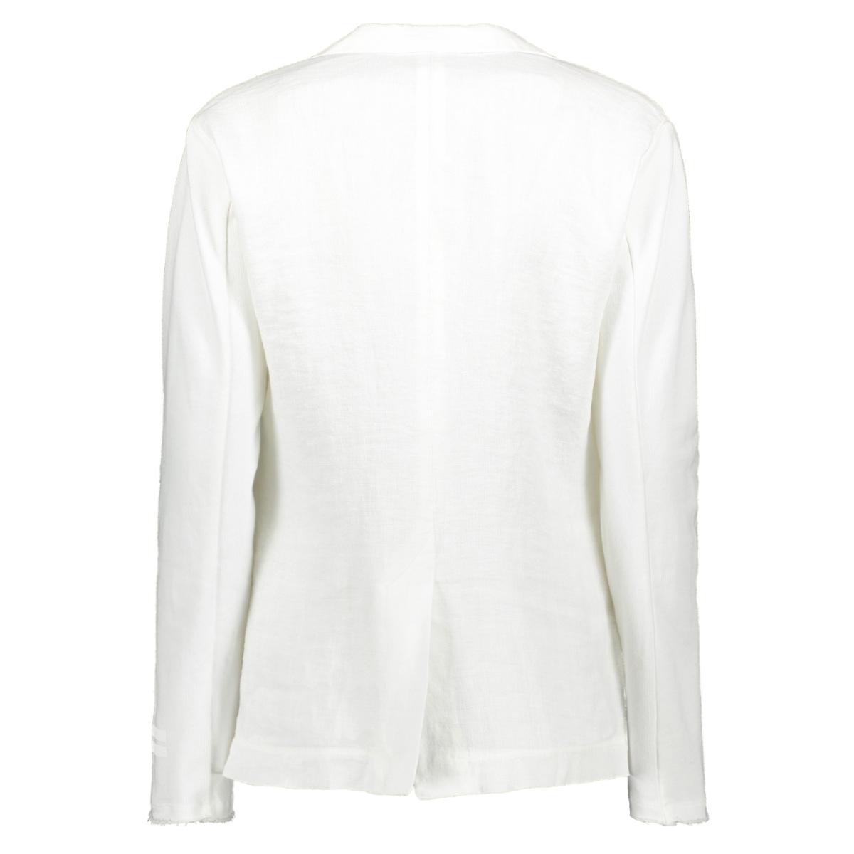 blazer linen 20 504 0201 10 days blazer 1001 white