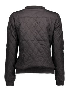 onlsmoke bomber jacket rp2 otw 15127241 only jas black/leo