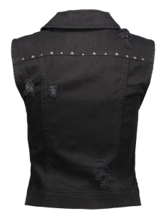 onlchris dnm studs waistcoat bj 15116925 only gilet black