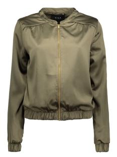 vicentri bomber jacket 14038010 vila jas ivy green