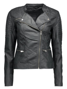 onlNEW START FAUX LEATHER BIKER CC 15118846 Pirate Black