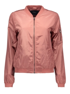 onllinea nylon short jacket otw noos 15127242 only jas withered rose