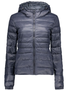 onltahoe contrast hooded jacket  cc 15118836 only jas blue graphite