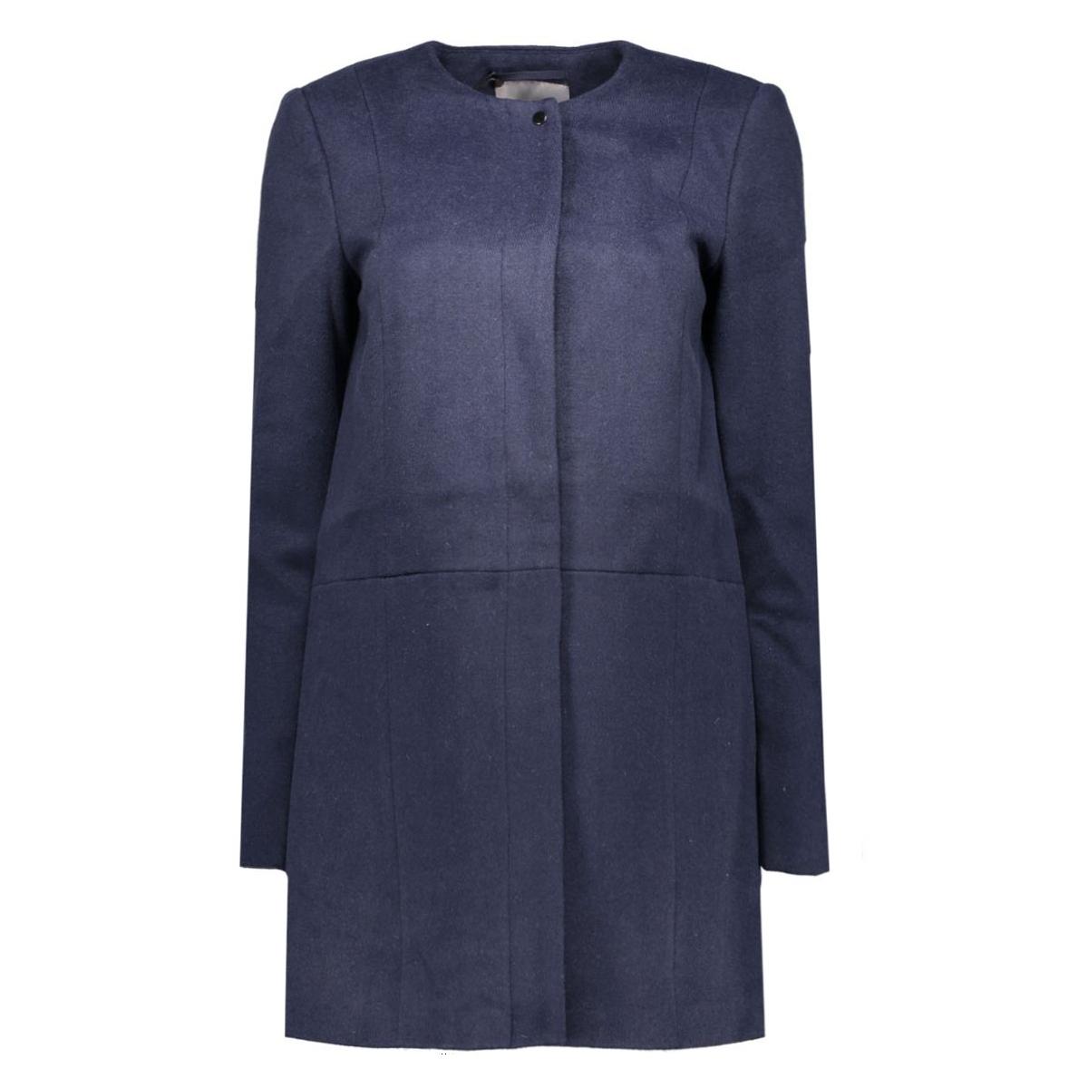 vmanke rich 3/4 wool jacket a 10159255 vero moda jas navy blazer
