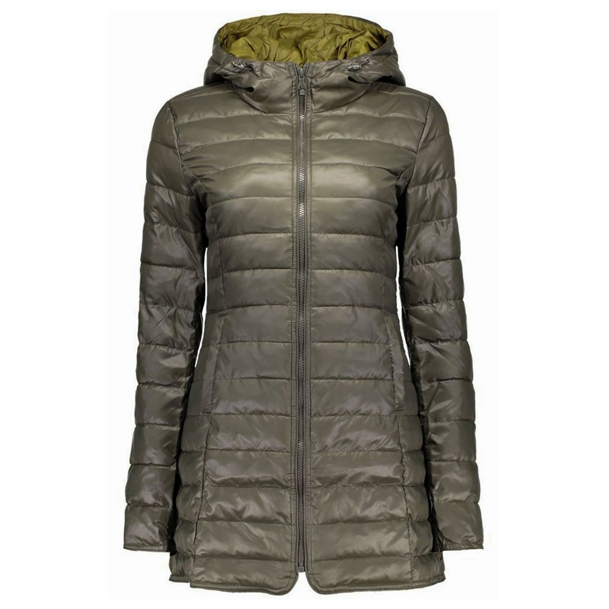 onltahoe quilted contrast coat 15118834 only jas peat