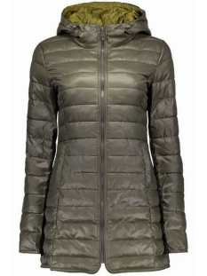 Only Jas onlTAHOE QUILTED CONTRAST COAT 15118834 Peat