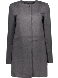 VMANKE RICH 3/4 WOOL JACKET A 10159255 Dark Grey Melange
