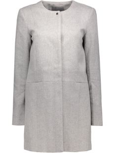 vmanke rich 3/4 wool jacket a 10159255 vero moda jas light grey melange