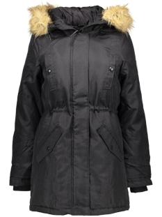 vmpolar arctic  3/4 parka dnm a 10159267 vero moda jas black