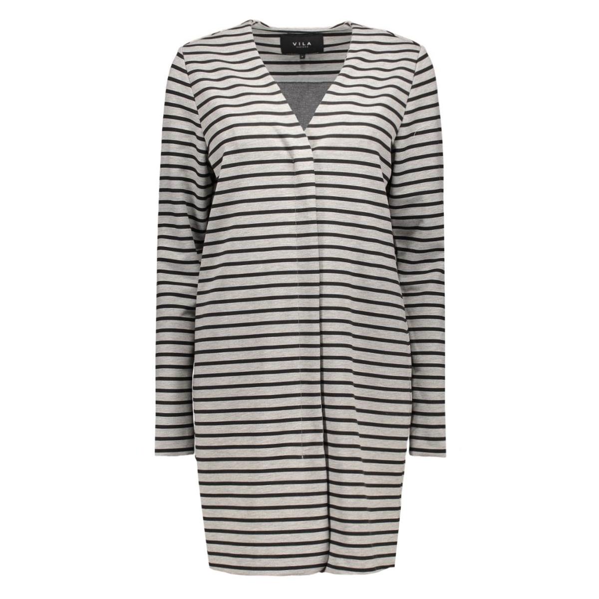 vitinny jacket 14038399 vila vest light grey melange