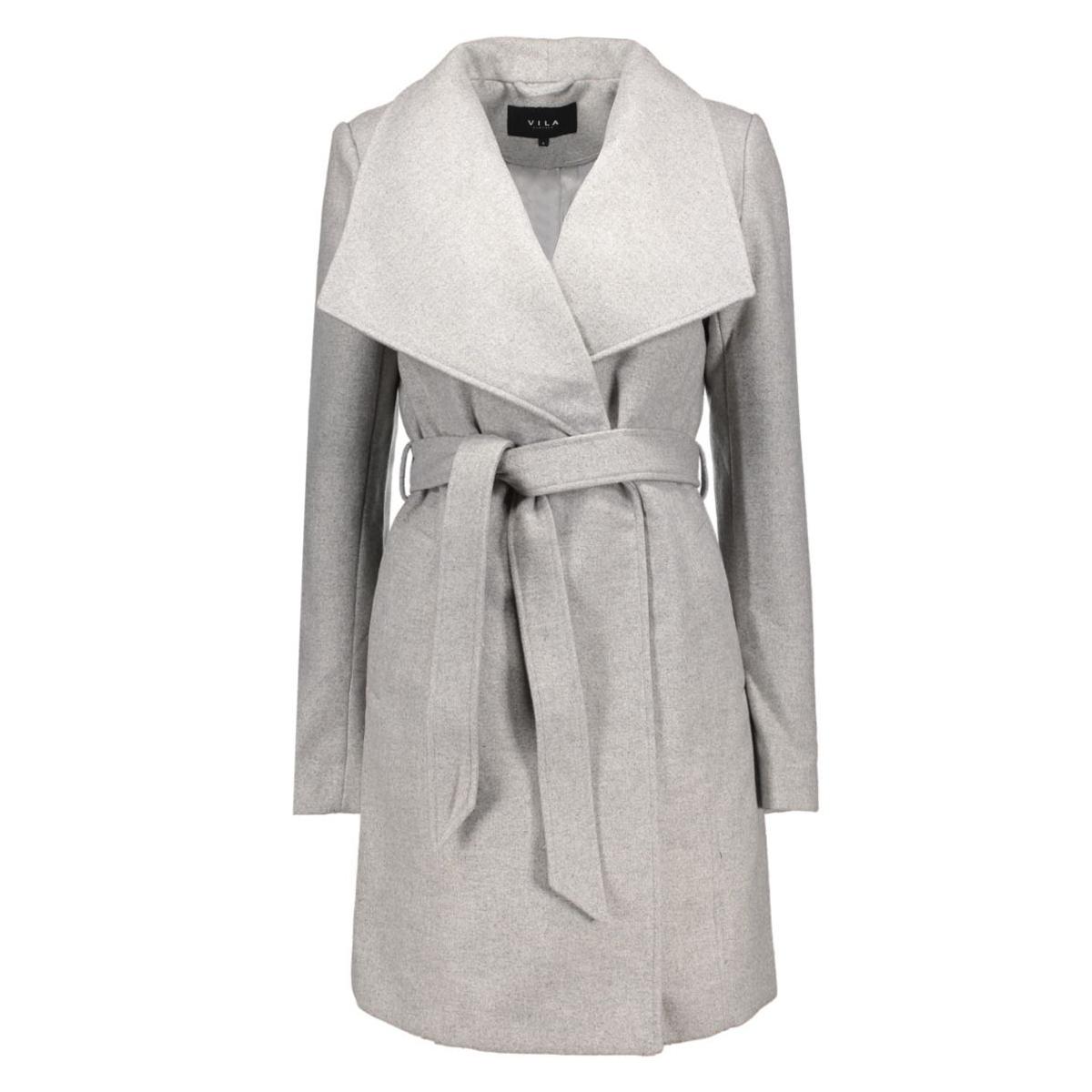 vidirector jacket-noos 14036154 vila jas light grey melange