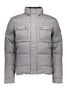 jcocam puffer jacket 12109636 jack & jones jas grey melange
