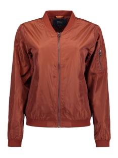 onllinea nylon short jacket otw noo 15127242 only jas cherry mahogany