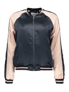 Vila Jas VIADOBE NEW BOMBER JACKET 14040198 Total Eclipse/Rose dust
