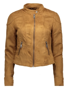 VMMIRRA SHORT FAKE SUEDE JACKET A 10162036 Cognac