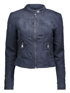 VMMIRRA SHORT FAKE SUEDE JACKET A 10162036 Navy Blazer