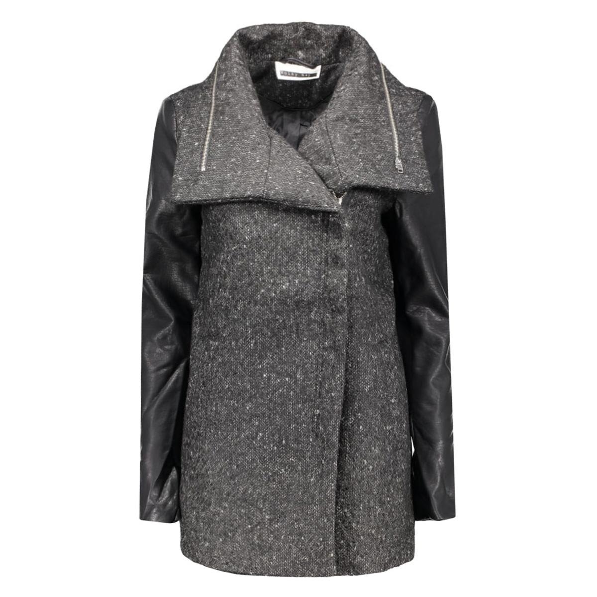 nmkyles l/s jacket 10161032 noisy may jas black