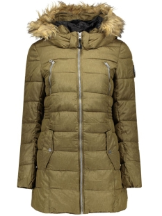 Only Jas onlNEW LIME NYLON COAT OTW 15117869 Beech