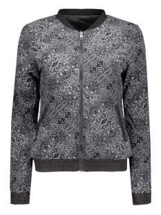 onlsmoke nova bomber jacket otw 15129208 only jas black/mono paisl