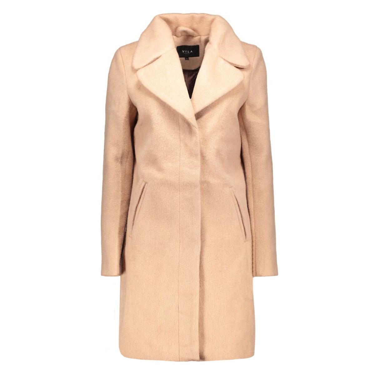 vinuka coat 14035605 vila jas rose dust