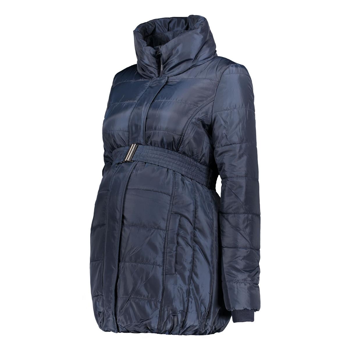 mlquilty l/s padded jacket 20006282 mama-licious positie jas navy blazer
