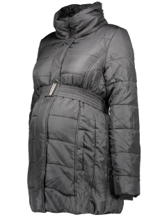 mlquilty l/s padded jacket 20006282 mama-licious positie jas black