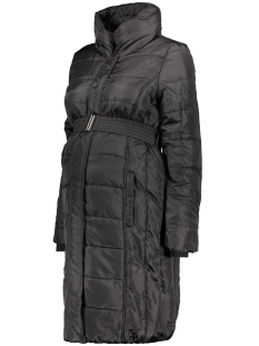 mlquilty l/s padded coat 20006289 mama-licious positie jas black