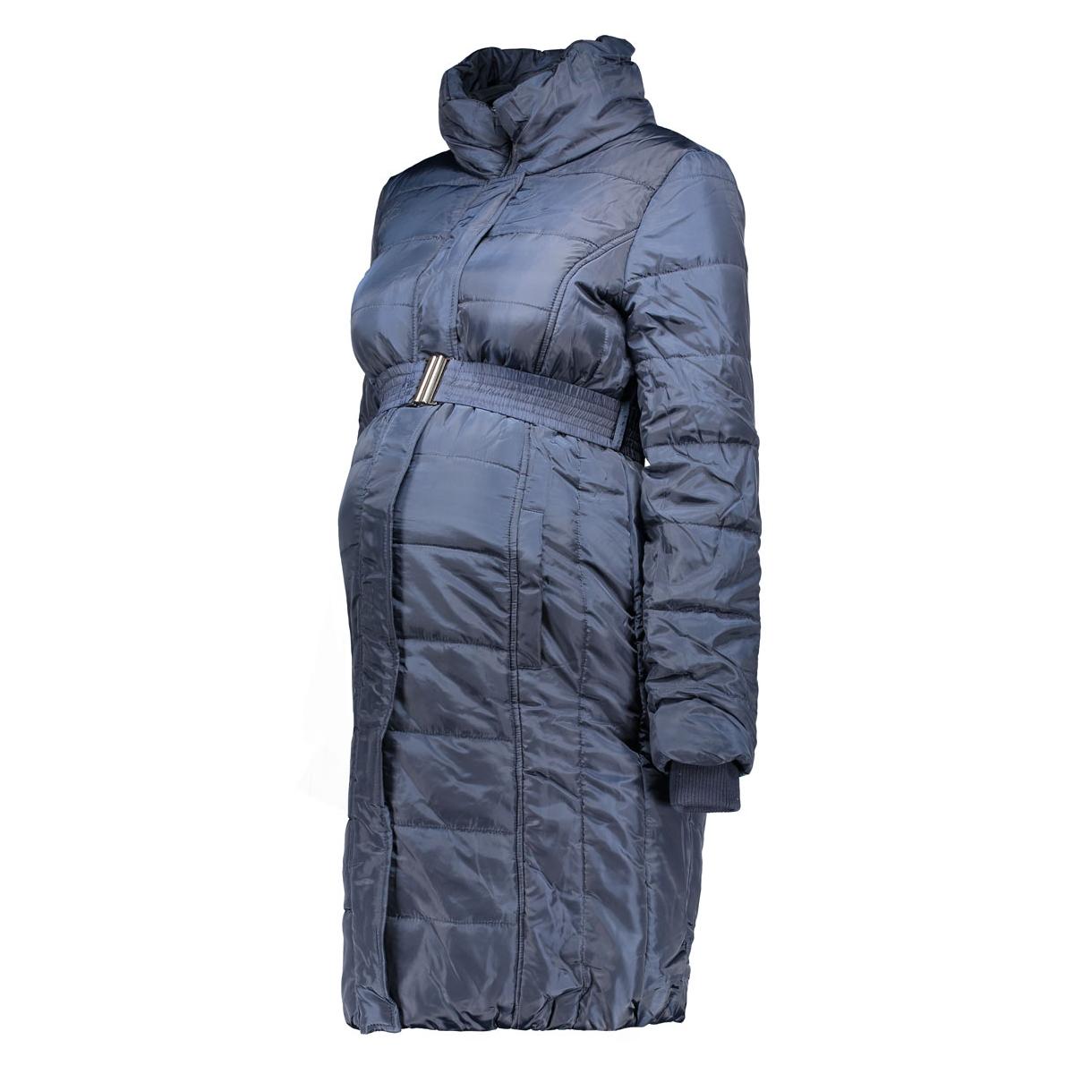 mlquilty l/s padded coat 20006289 mama-licious positie jas navy blazer