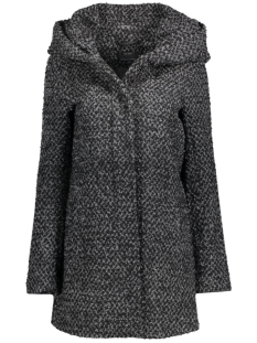 onlINDIE SEDONA LONG WOOL COAT CC O 15118826 Dark Grey Melange