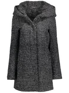 onlindie sedona long wool coat cc o 15118826 only jas dark grey melange