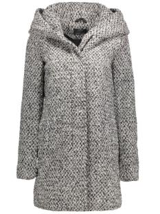 Only Jas onlINDIE SEDONA LONG WOOL COAT CC O 15118826 Medium Grey Melange
