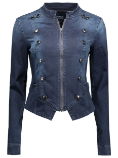 onlSWIFTY MILITARY DNM JACKET BJ705 15119478 Dark Blue Denim