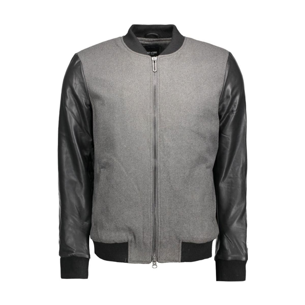 onsoudie jacket 22004398 only & sons jas black
