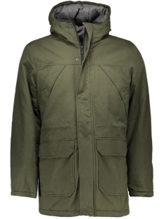 onsOVANT LONG JACKET 22004403 Forest night