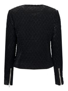 vmvelvy short jacket 10162104 vero moda jas black