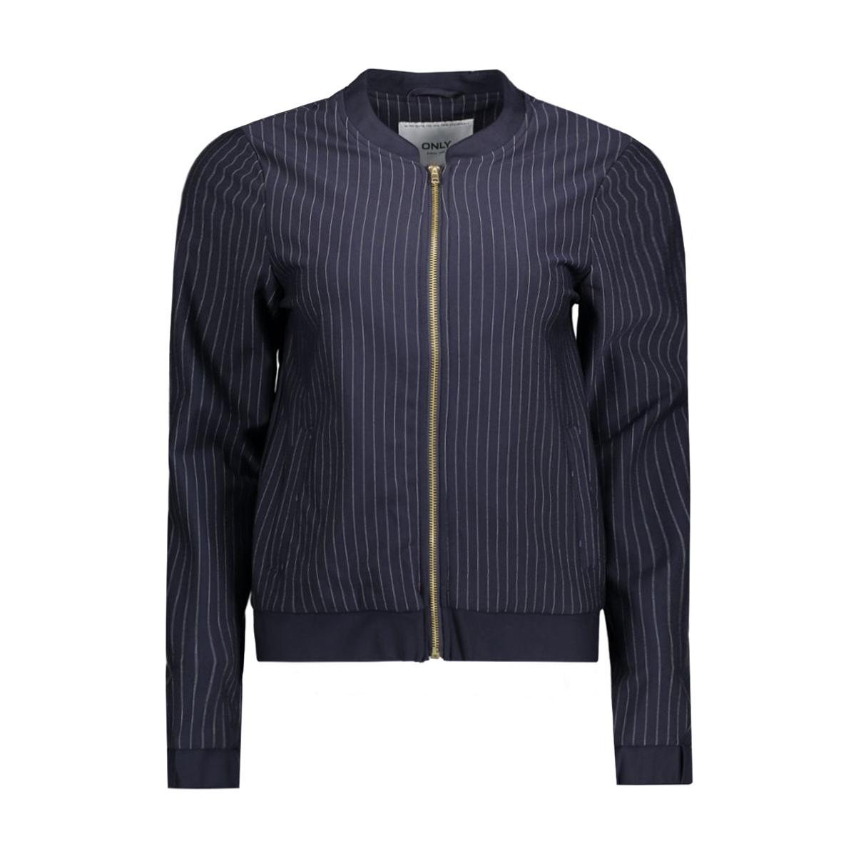 onlpenny stripe bomber jacket 15132050 only jas night sky